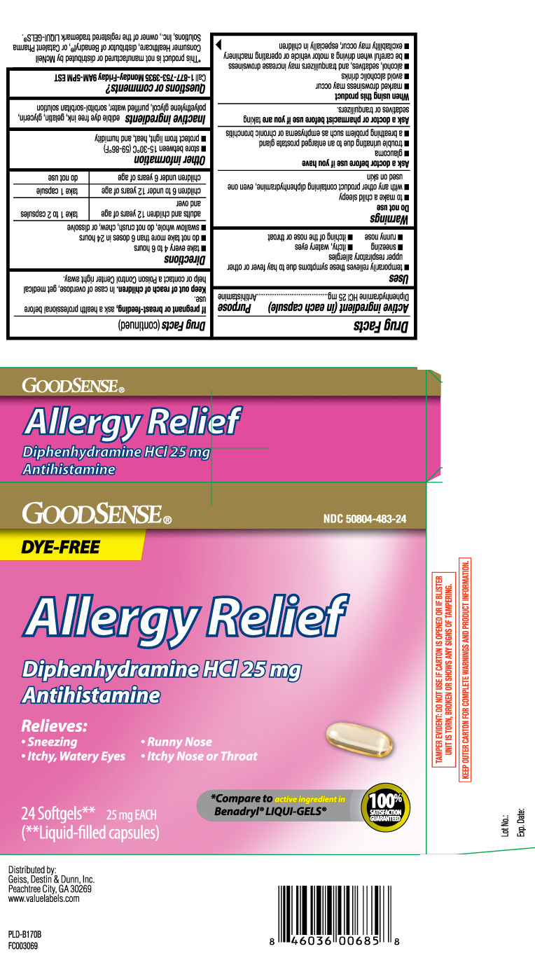 Allergy Relief Dye Free: Details from the FDA, via OTCLabels com