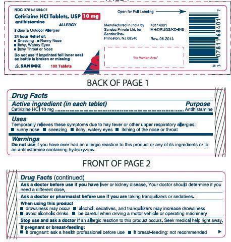 Cetirizine Hydrochloride: Details from the FDA, via OTCLabels com