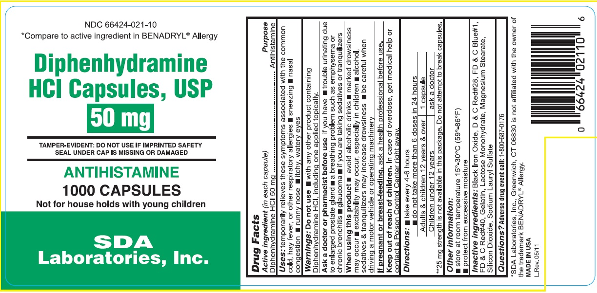 Diphenhydramine HCL: Details from the FDA, via OTCLabels com