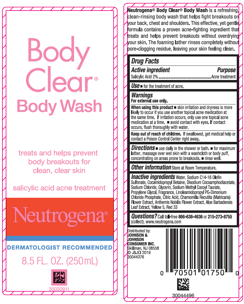 Neutrogena Body Clear Body Wash Details From The Fda Via