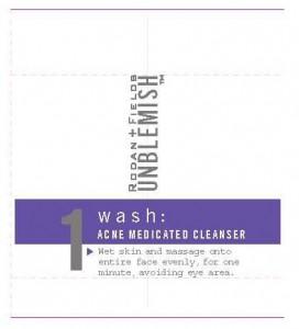 OTC Medication Information: Rodan and Fields Unblemish 1 Wash Acne ...