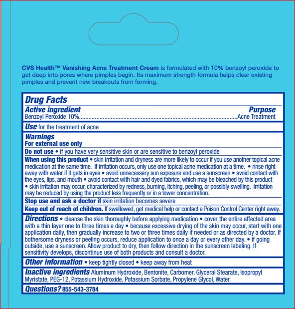 Vanishing Acne Treatment Cream Cvs Health Details From The Fda